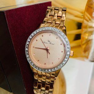 Lucien Piccard Women's Monte Rose Gold Watch